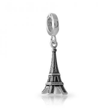 Подвеска-шарм Эйфелева башня из серебра