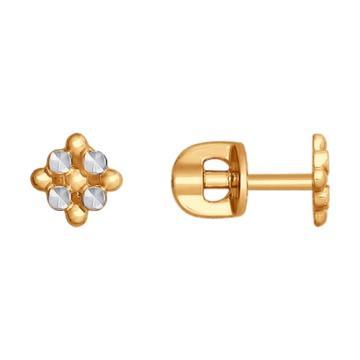 Серьги-пусеты SOKOLOV из золота