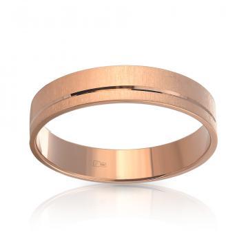 Кольцо обручальное TALANT из золота, 5мм