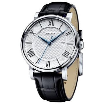 Серебряные часы SOKOLOV 101.30.00.000.01.01