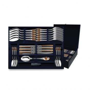 Набор столовых приборов Единство (24 предмета) из серебра