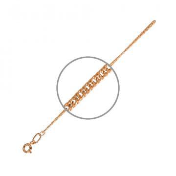 Цепочка TALANT, плетение Панцирь двойной, из серебра