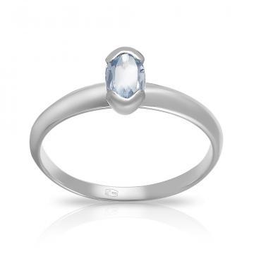 Кольцо TALANT из серебра с топазом