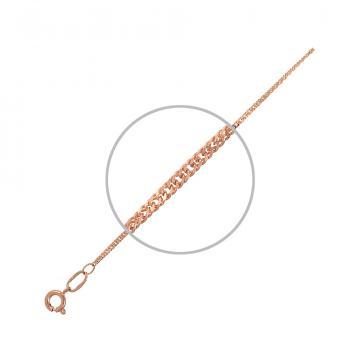 Цепочка, плетение Панцирь двойной, из золота