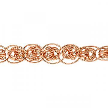 Браслет, плетение Нонна-роза, из золота