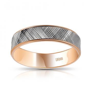 Кольцо обручальное из золота, 6 мм