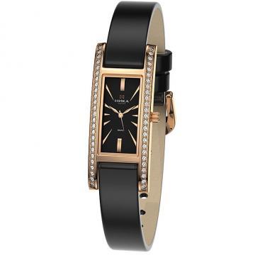 Золотые часы НИКА Lady Роза 0446.2.1.55