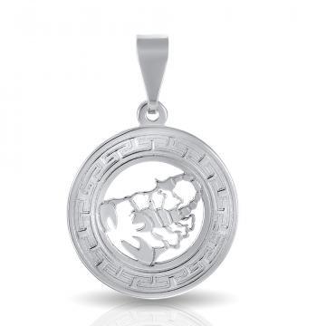 Подвеска из серебра, знак зодиака Скорпион