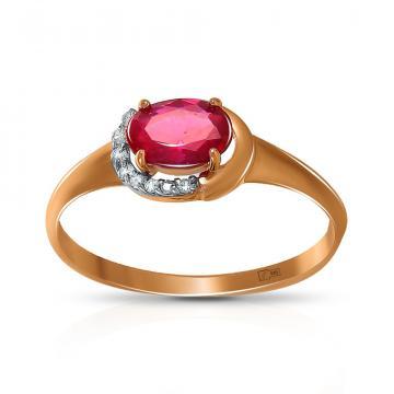 Кольцо TALANT из золота с рубином и бриллиантами
