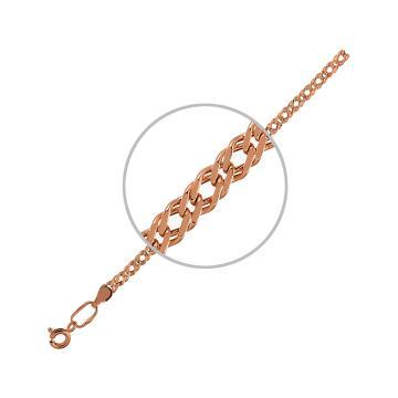 Цепочка, плетение Ромб двойной с алмазной гранью 6-ти сторон, 6 мм