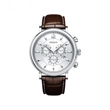 Серебряные часы SOKOLOV 125.30.00.000.03.02