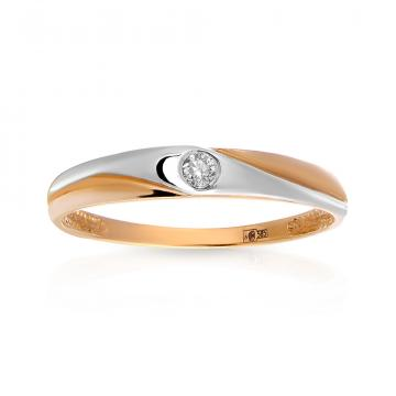 Кольцо TALANT с бриллиантом из золота