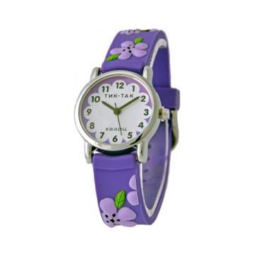 Часы детские ТИК-ТАК 101-2 цветы