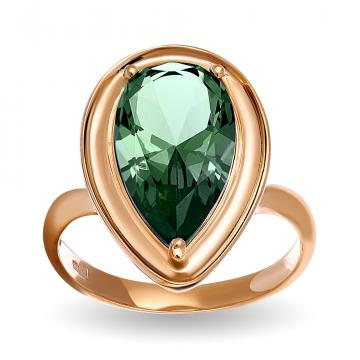 Кольцо из золота с турмалином