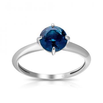 Кольцо из серебра с ювелирным кристаллом