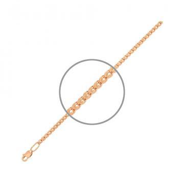 Цепочка, плетение Шнурок, из золота