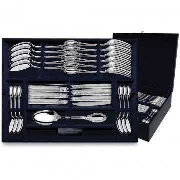 Набор столовых приборов Престиж (48 предметов) из серебра