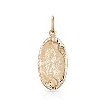 Подвеска из золота, знак зодиака Дева
