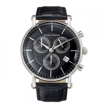 Часы наручные Romanson TL 8A27H MW(BK)