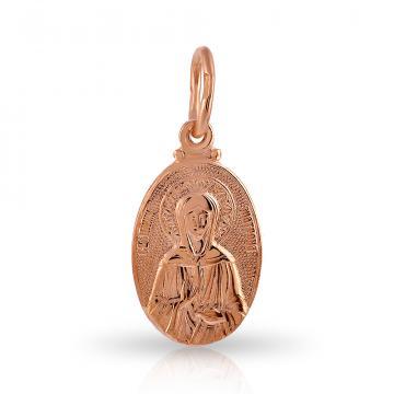 Подвеска-икона Святой Матроны Московской из золота
