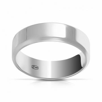 Кольцо обручальное TALANT из серебра, 5мм