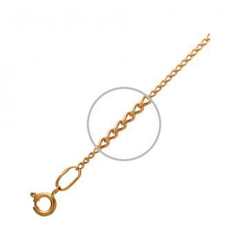 Цепочка, плетение Панцирь, из золота