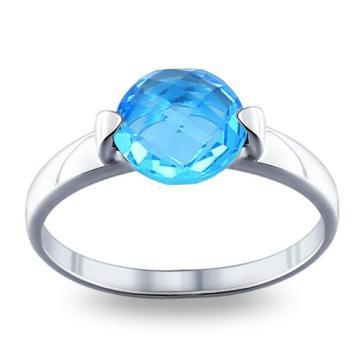Кольцо SOKOLOV с ювелирным кристаллом из серебра