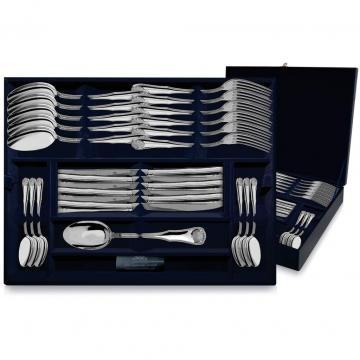 Набор столовых приборов Визит (24 предметов) из серебра
