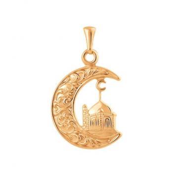 Подвеска мусульманская из золота