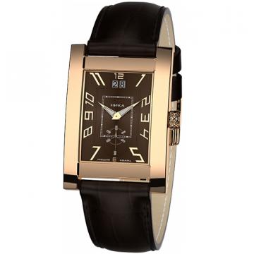 Золотые часы НИКА Gentleman Мегаполис 1041.0.1.62