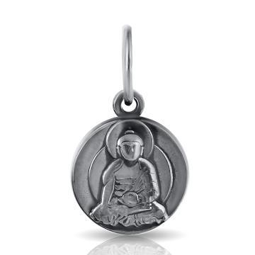 Подвеска Будда из серебра