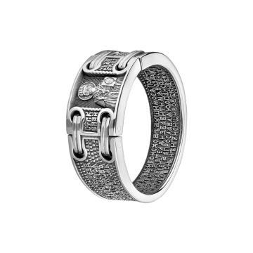 Кольцо Святитель Николай из серебра