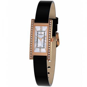 Золотые часы НИКА Lady Розмарин 0438.2.1.31