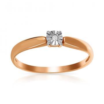 Кольцо TALANT из золота с бриллиантом