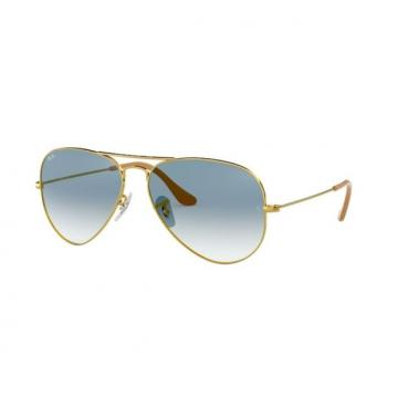 Очки RAY-BAN AVIATOR GOLD 0RB3025