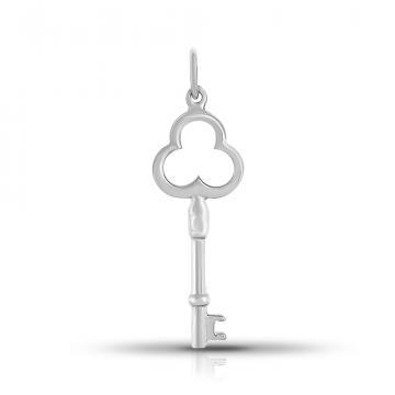 Подвеска Ключ из серебра