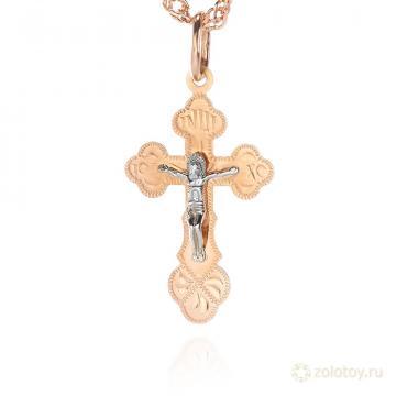 Крест с ручной гравировкой