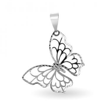 Подвеска Бабочка из серебра