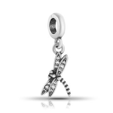 Подвеска-шарм TALANT Стрекоза из серебра