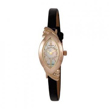 Золотые часы НИКА 0772.1.1.36