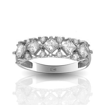 Кольцо TALANT из серебра с фианитами