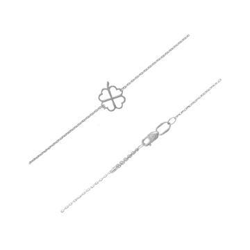 Браслет на ногу (анклет) из серебра