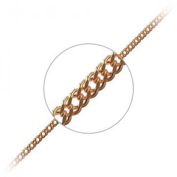 Цепочка, из золота, плетение Ромб тройной, из золота