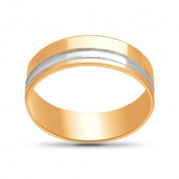 Кольцо обручальное из золота, синтеринг