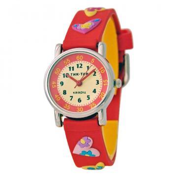 Часы детские Тик-Так 101-2#КР.СЕРДЦА