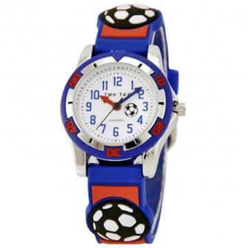 Часы наручные Тик-Так 102-2#СИН.КР.ФУТБ