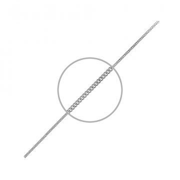 Цепочка, плетение Панцирь, из серебра