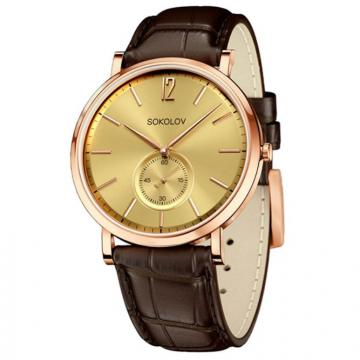 Золотые часы Sokolov 209.01.00.000.04.02