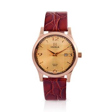 Золотые часы НИКА Gentleman Лотос 1060.0.1.44