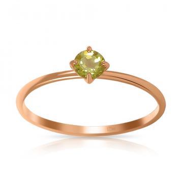 Кольцо TALANT из золота с хризолитом